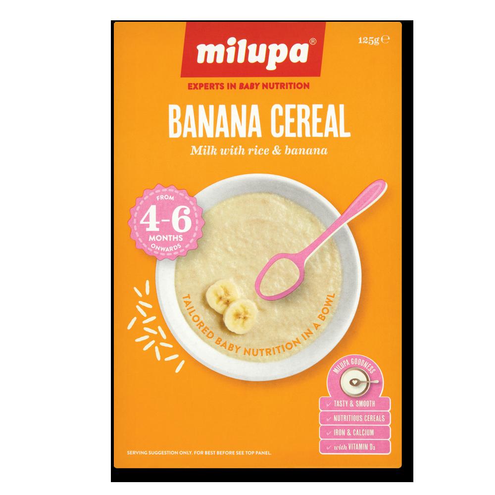 Milupa Sunripe Banana Cereal 125g