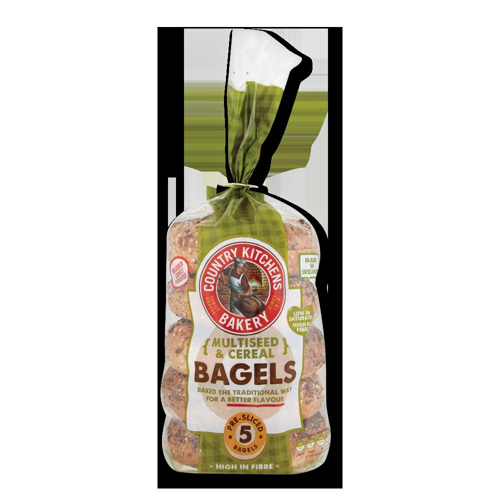 Country Kitchen Bread: Country Kitchen Multigrain Bagels 400g