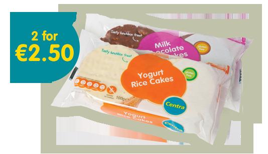 centra yogurt milk chocolate rice cakes rice cakes are naturally ...